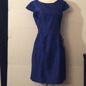 J.Crew wedding & parties blue s/sleeves dress # 8P